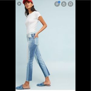 Anthropologie AG Isabella High Rise Cropped Jeans